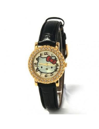 Reloj analogico Hello Kitty caja metalica