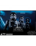 Figura Star Wars Episodio VII First Order TIE Pilot escala 1 6