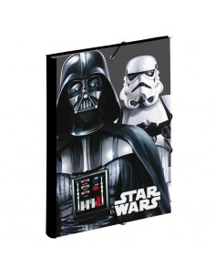Carpeta gomas solapas Star Wars Flash