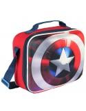 Bolsa portamerienda 3D EVA Capitan America