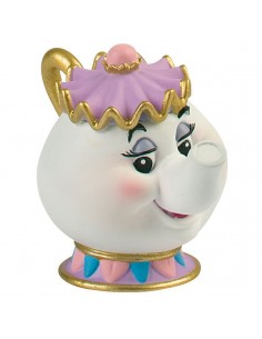 Figura Mrs Potts La Bella y La Bestia Disney
