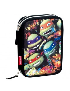 Plumier Tortugas Ninja Together doble