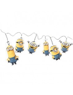 Luces led Minions cuerda