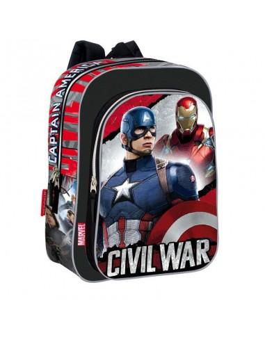 Mochila Capitan America Civil War Justice 37cm