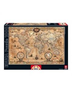 Puzzle Mapamundi 1000pz