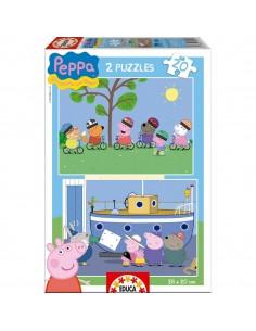 Puzzles Peppa Pig 2x20