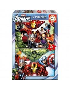 Puzzles Vengadores Avengers Marvel 2x48
