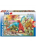 Puzzle Dinosaurios 100pz