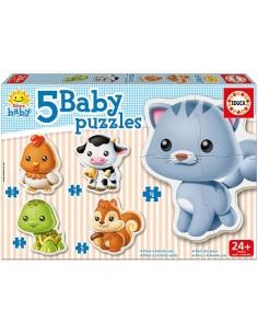 Puzzle Baby animalitos domesticos