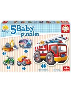 Puzzle Baby vehiculos