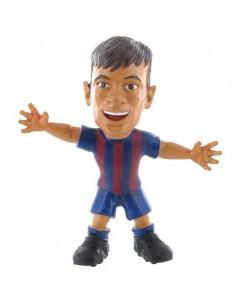 Figura Neymar celebrando FC Barcelona