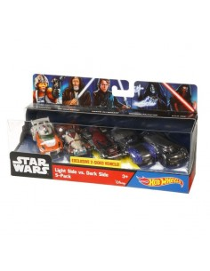 Set 5 vehiculos Star Wars Hot Wheels
