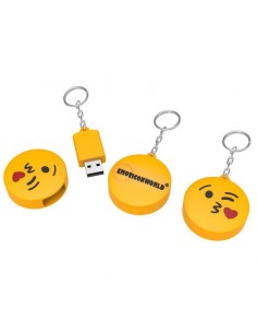 Memoria USB emoticono beso 16GB