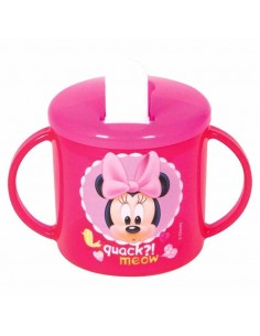 Taza con asas de Minnie Mouse
