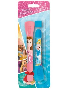 Tienda Disney - Set 2 boligrafos con linterna de Princesas