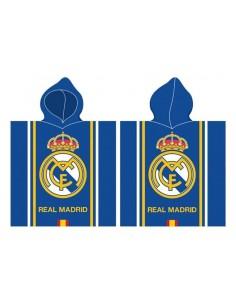 Poncho toalla oficial del Real Madrid