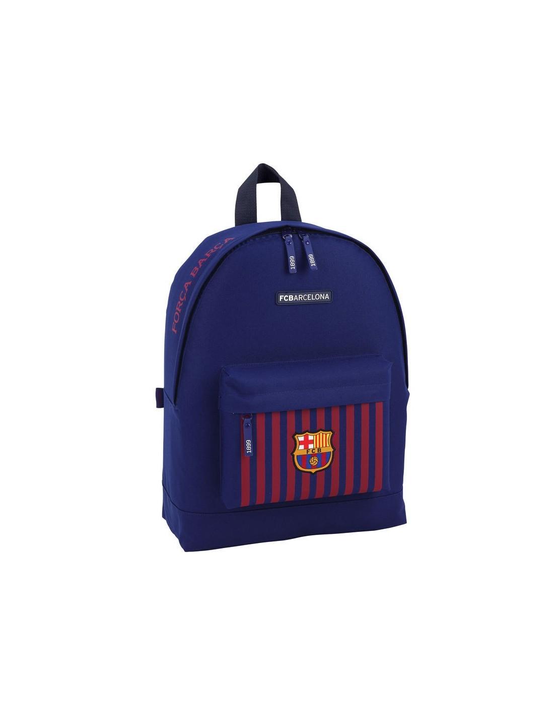 c90866f8814d1 Mochila ordenador FC Barcelona 43 cm. oficial ...