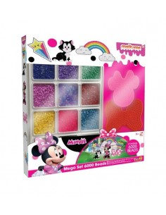 Mega Set Perlas Fundibles De Minnie Mouse Disney