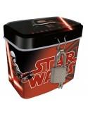 Hucha Star Wars Episodio VII metalica candado