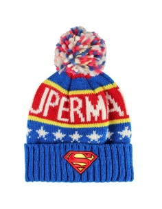 Gorro premium Superman DC jacquard