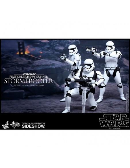 Figura First Order Heavy Gunner Stormtrooper Sixth Scale Star Wars Episodio VII
