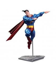 Estatua Superman DC Comics metalico version Frank Miller