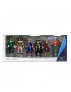 Pack 6 figuras Justice League Action Alex Ross 17 18cm