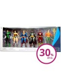 Pack 6 figuras Justice League Action Alex Ross 17 18cm