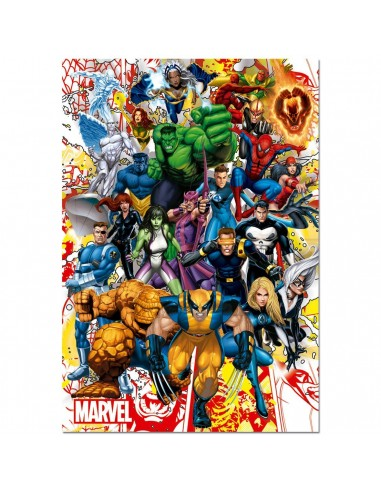 Puzzle Superheroes Marvel 500