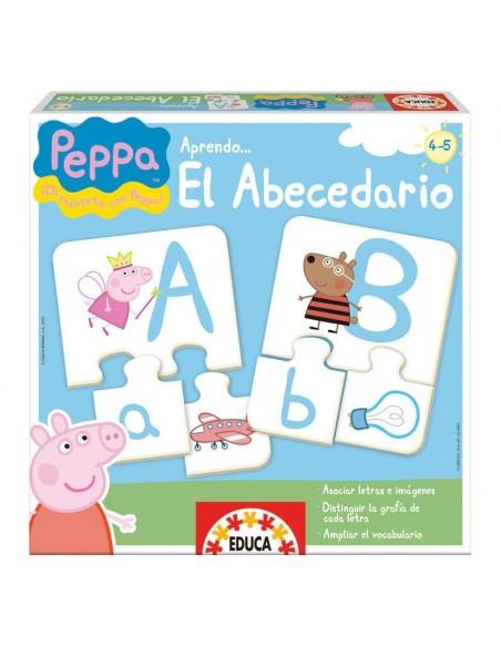 Juego aprendo el abecedario Peppa Pig