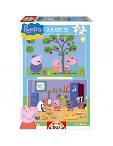 Puzzles Peppa Pig 2x48
