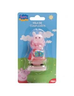 Vela cumpleanos Peppa Pig
