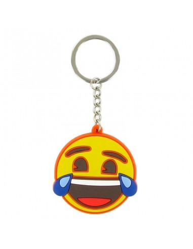 Llavero Emoji cara risa