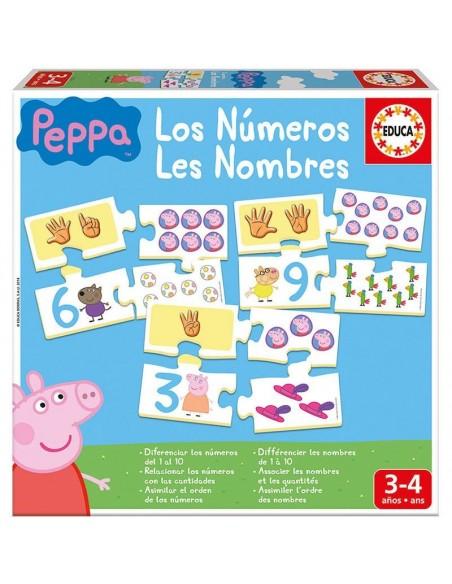 Juego los numeros Peppa Pig