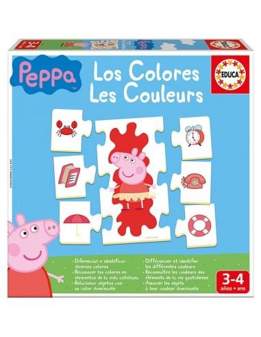 Juego los colores Peppa Pig