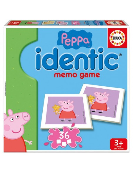 Juego identic memo Peppa Pig