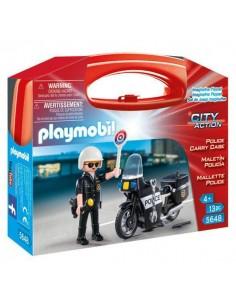 Policía en Moto
