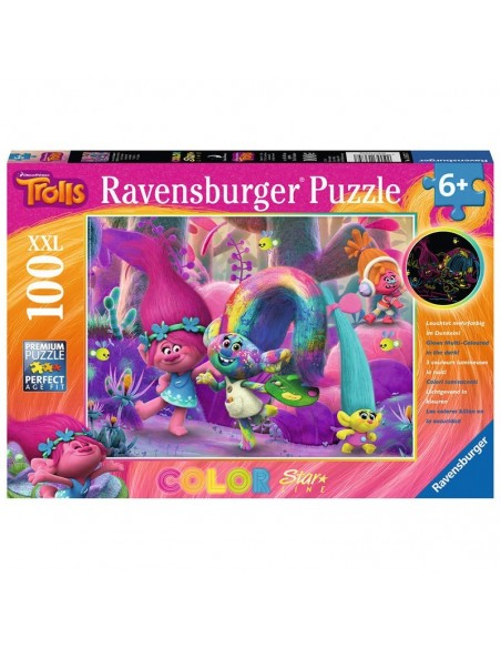 Puzzle 100 piezas de Los Trolls