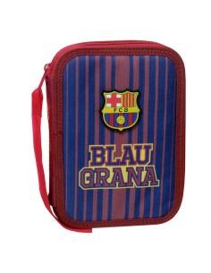 Estuche doble completo F.C. Barcelona