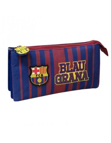 Portatodo triple oficial F.C. Barcelona