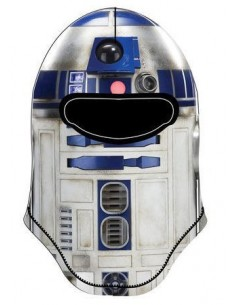 Gorro mascara integral R2D2 de Star Wars