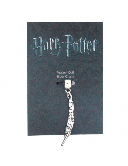 Colgante charm Feather Quill Harry Potter - Imagen 2