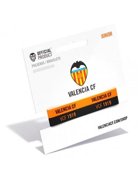 Pulsera embossed Valencia CF junior - Imagen 1