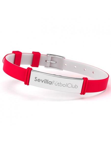 Pulsera fashion Sevilla FC rojo - Imagen 2