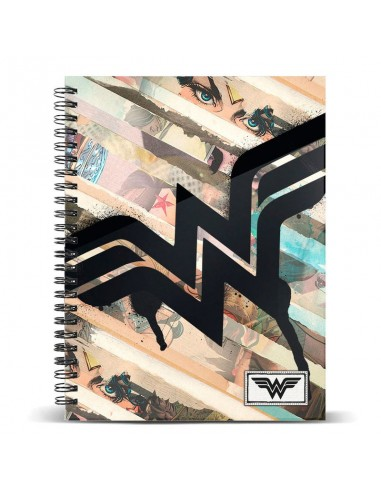 Cuaderno A4 Wonder Woman DC Comics Collage - Imagen 1