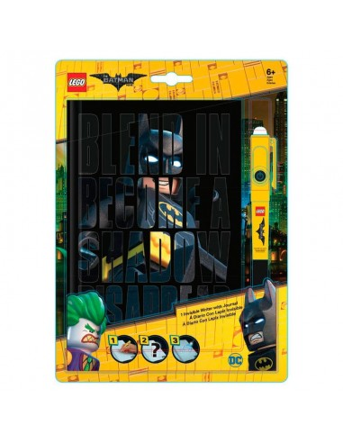 Agenda + boligrafo invisible Lego Batman - Imagen 1