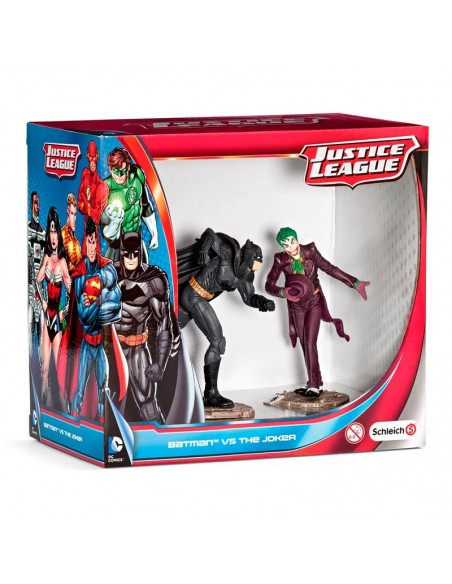 Figuras Batman vs The Joker Liga de la Justicia DC Comics - Imagen 1