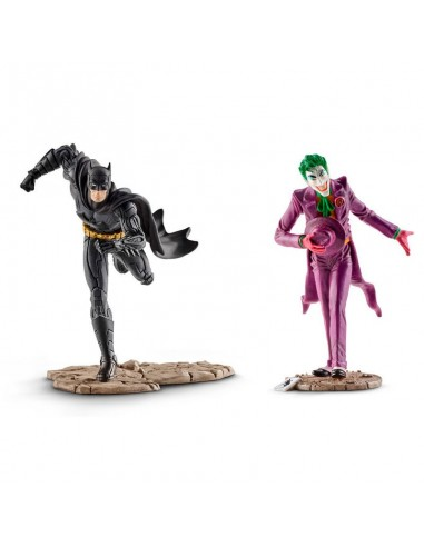 Figuras Batman vs The Joker Liga de la Justicia DC Comics - Imagen 2