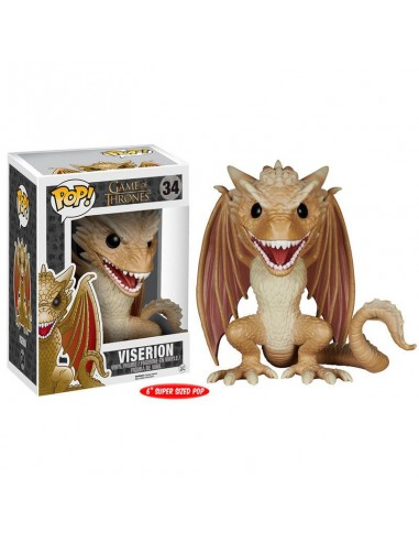 Figura POP Game of Thrones Viserion 15cm - Imagen 1