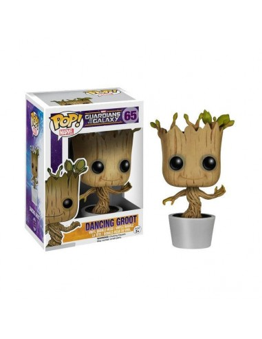 Figura POP Marvel Guardianes de la Galaxia Dancing Groot - Imagen 1